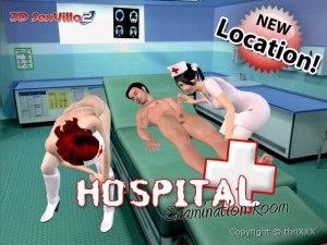 Hospital sexe trio