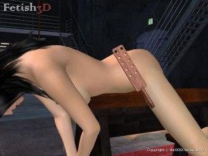 Slave fessee cul